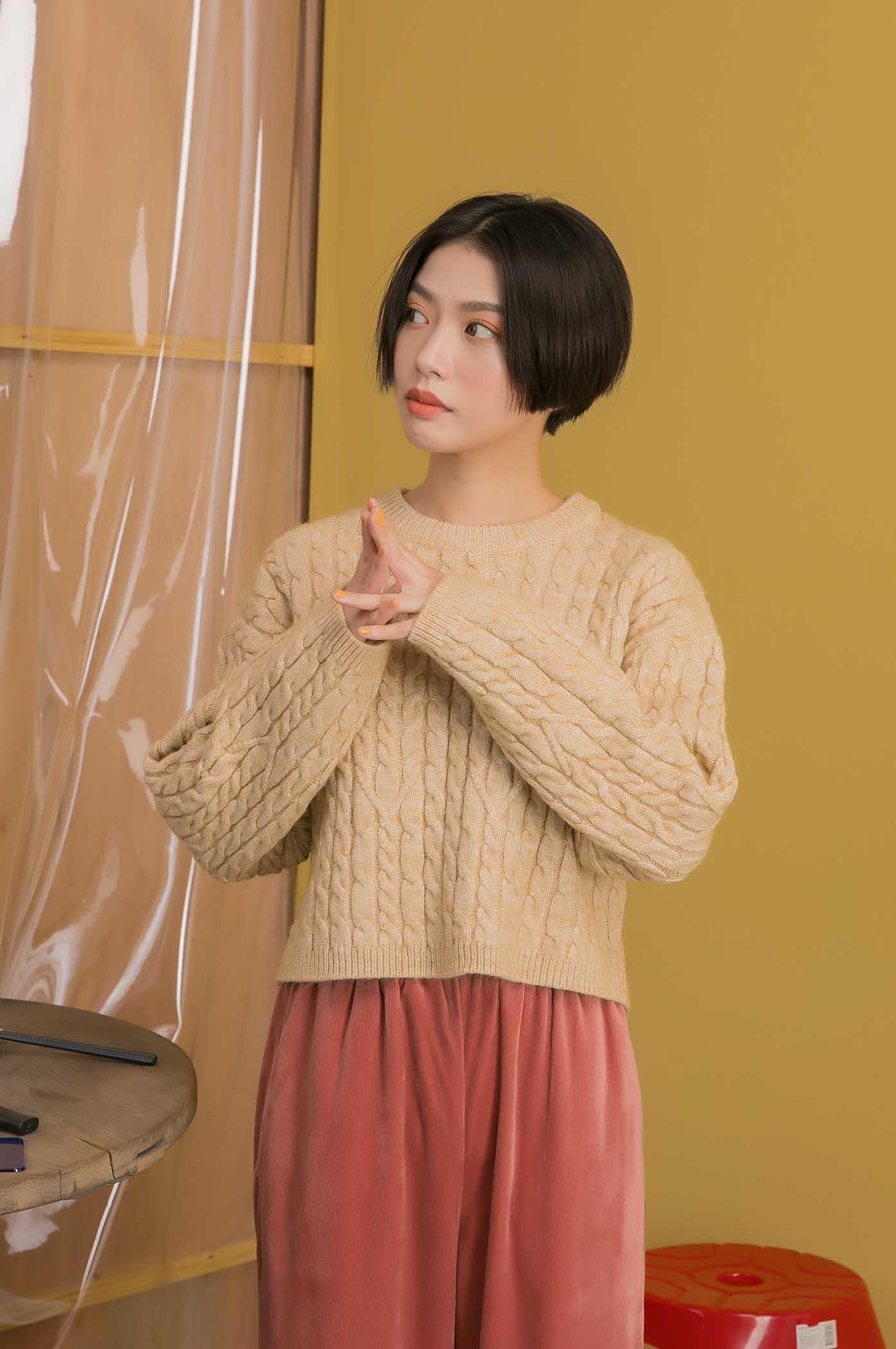 爸爸最愛粗針織毛衣