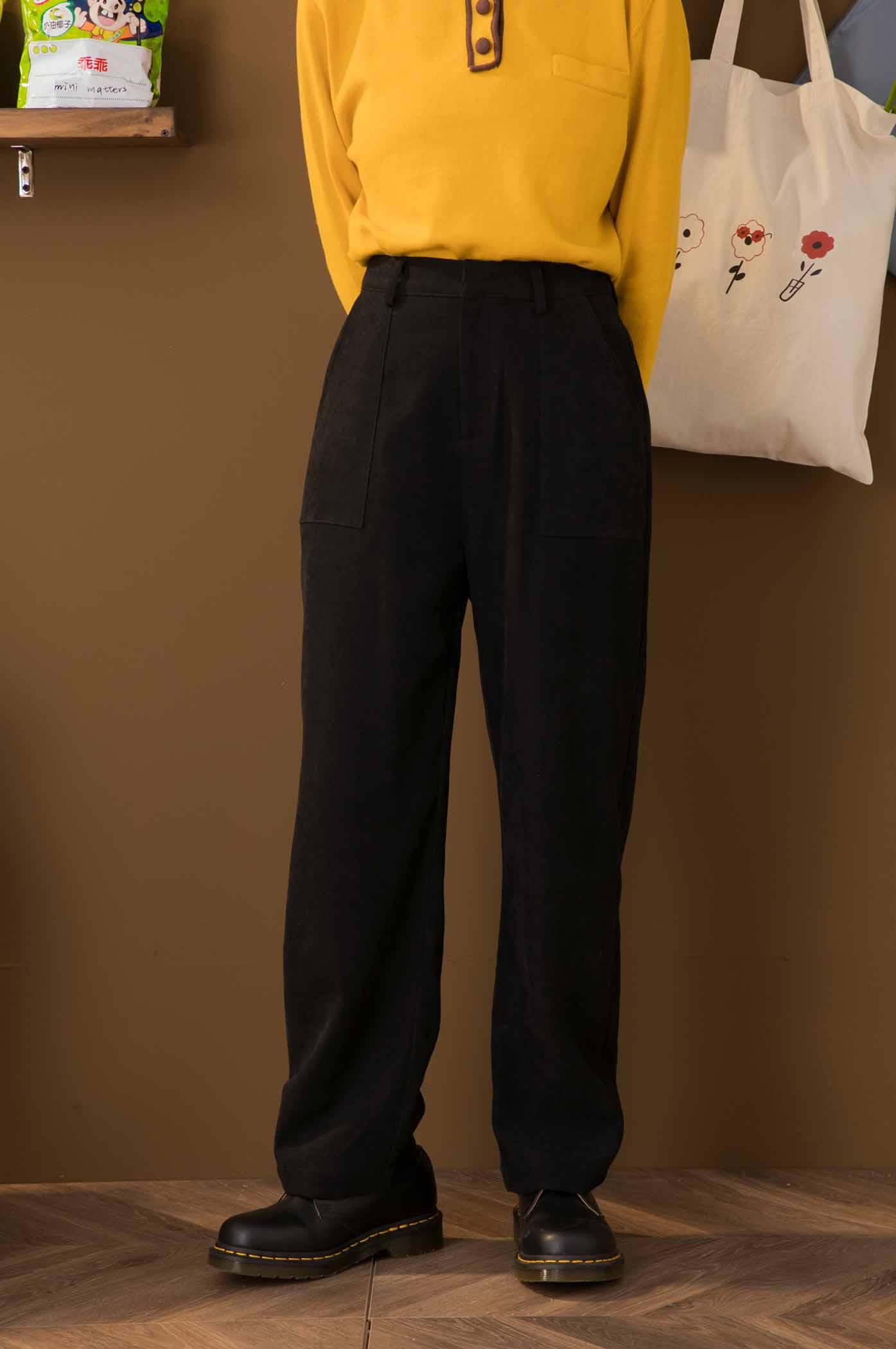 雙口袋長褲