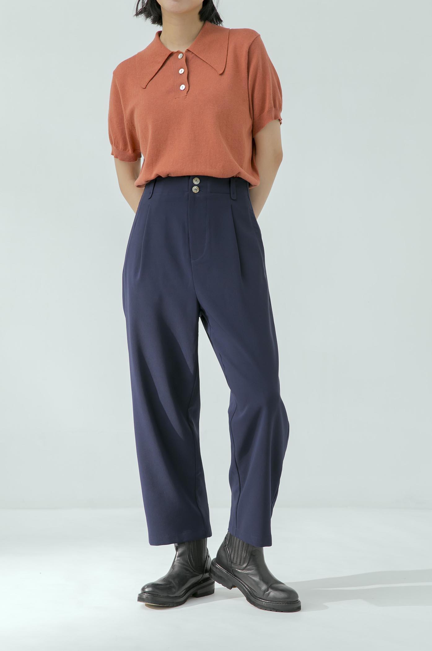 人見人愛窄管西裝褲