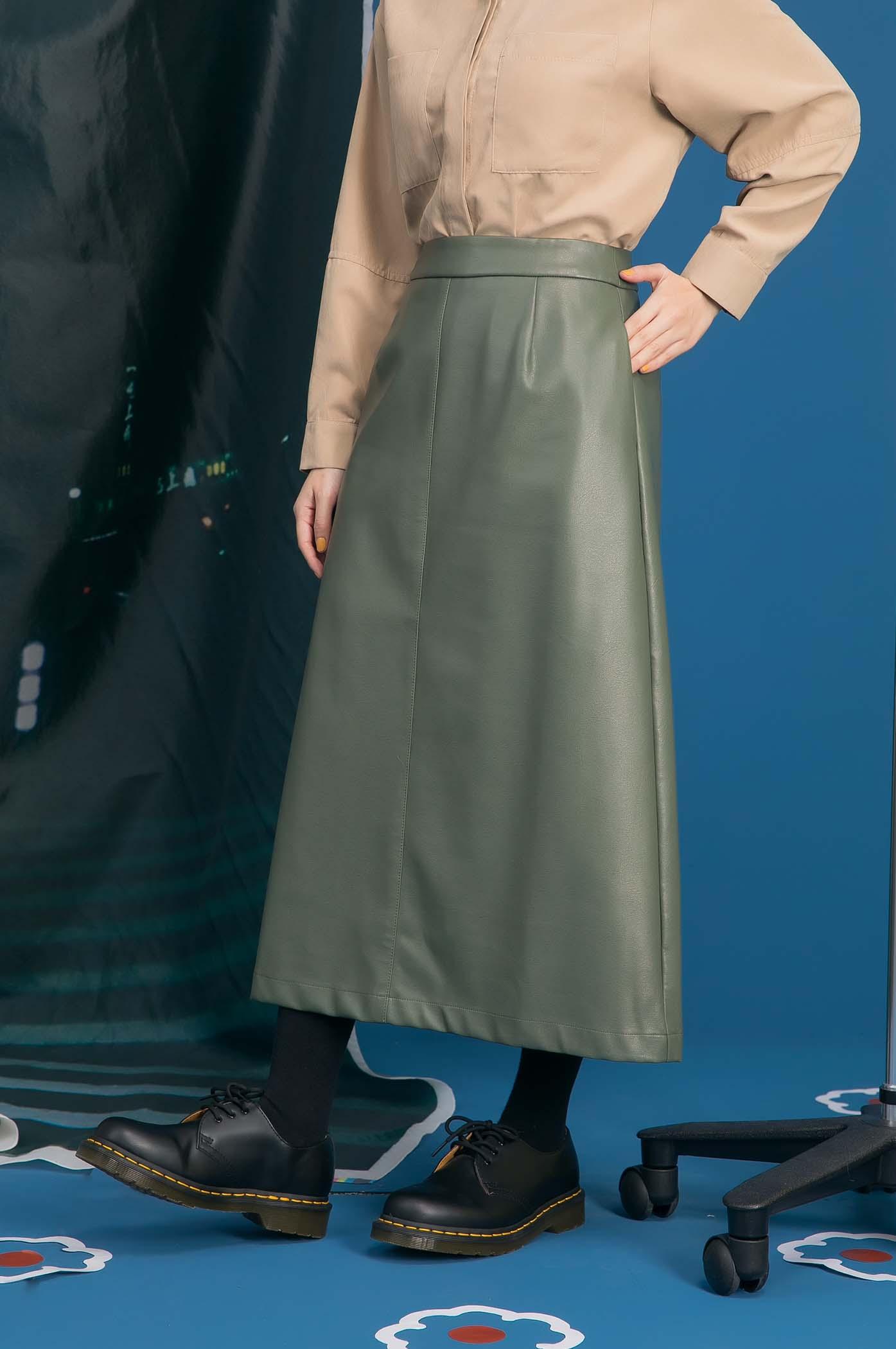 維多利亞皮裙