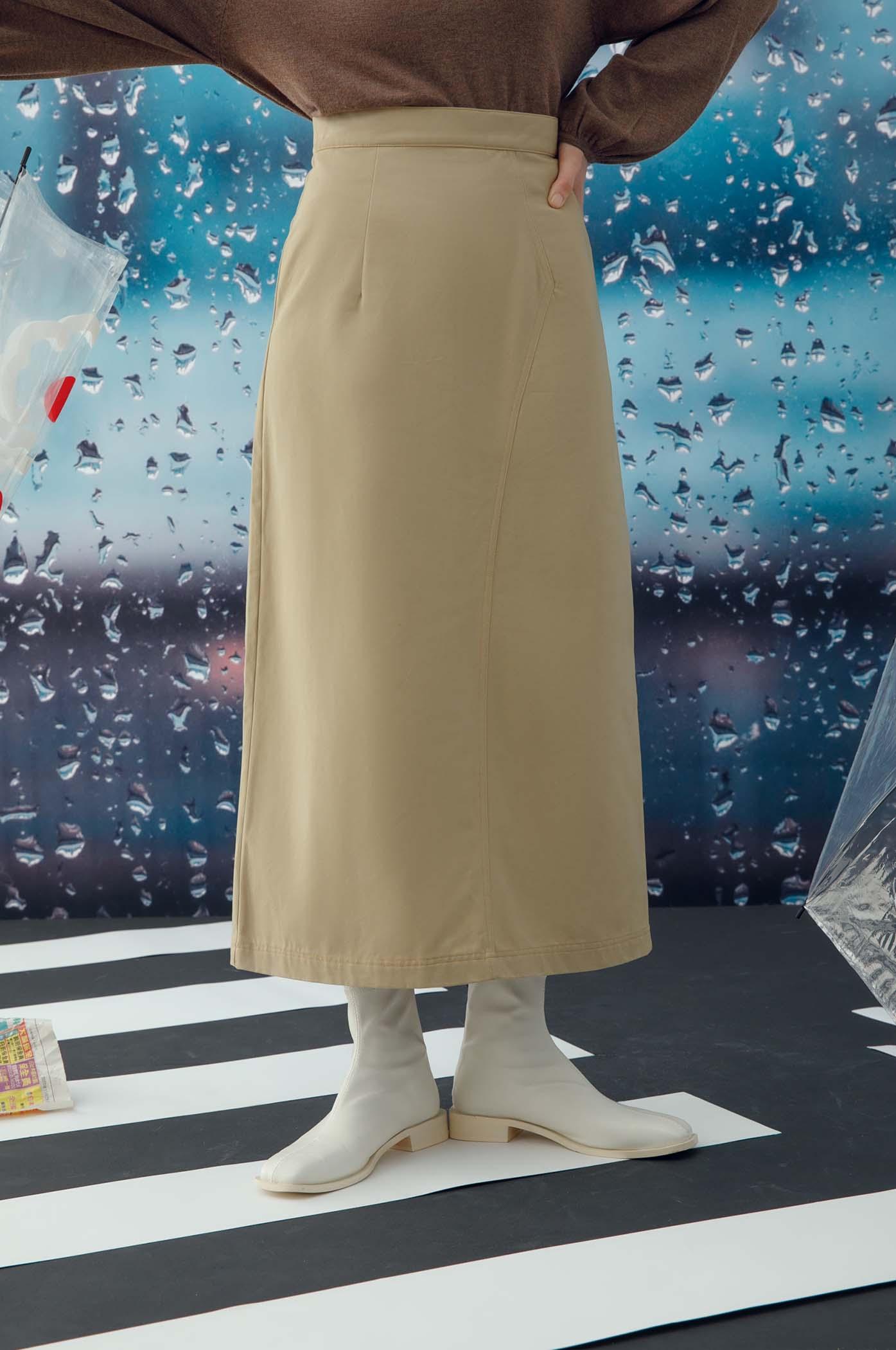 外縫線A字裙