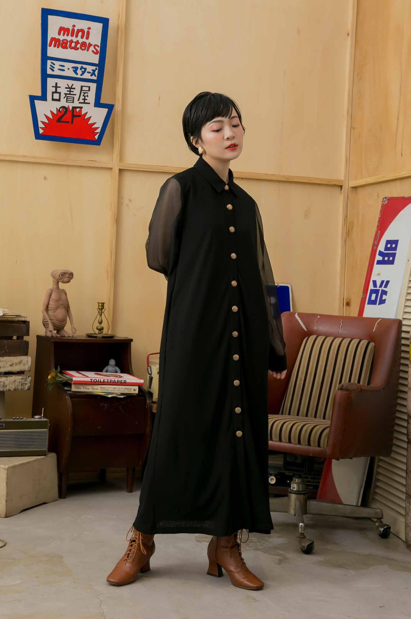 下北澤限定復古洋裝